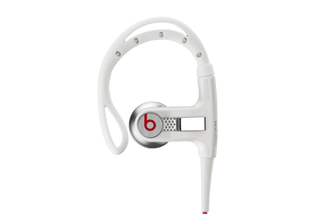 наушники powerbeats белого цвета