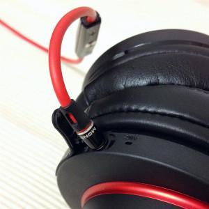 подключение Sony MDR-1RBT через аудиокабель