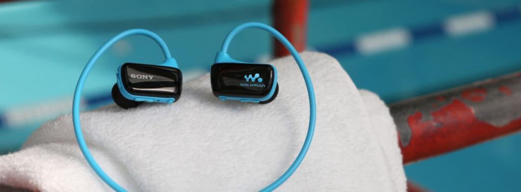 Водонепроницаемый плеер-наушники Sony NWZ-W273