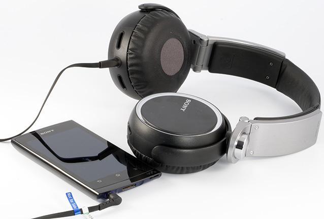 звучание SONY MDR-XB600