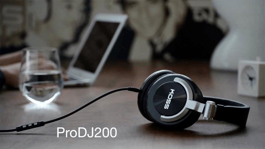 KOSS PRO DJ200 main