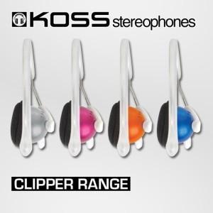 KOSS CLIPPER, варианты расцветок