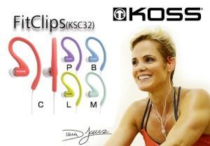 спортивные наушники KOSS KSC32