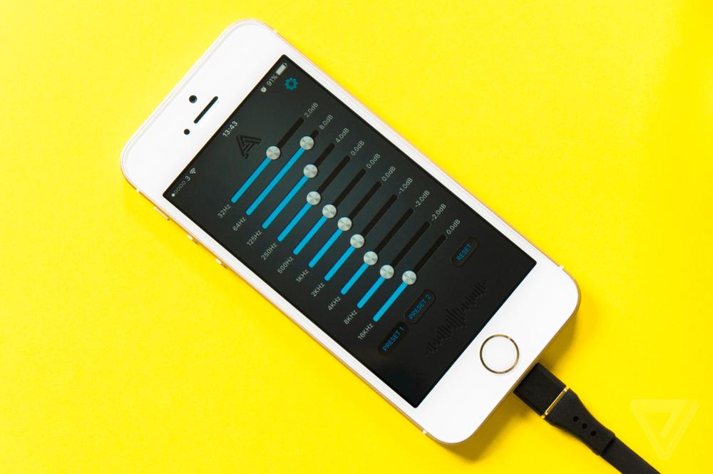 Четвертная причина купить наушники Lightning для своего iPhone 7 - улучшенный эквалайзер