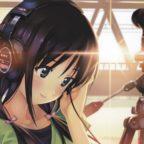 Девушка в наушниках Sony