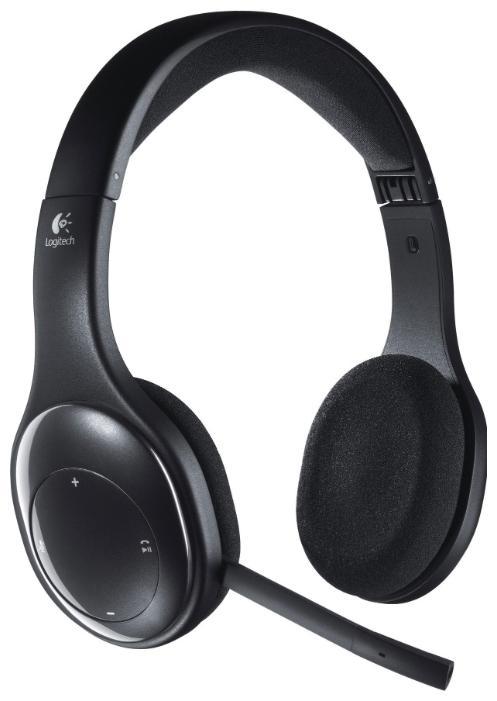 Беспроводные наушники logitech wireless headset h800