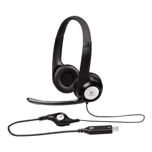 Наушники Logitech Stereo Headset H390
