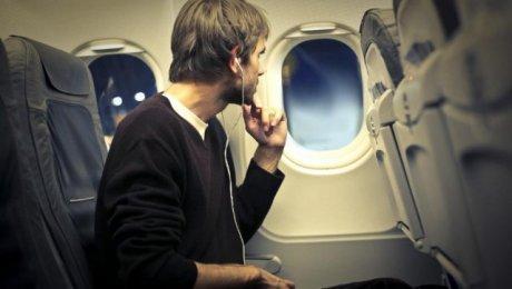 Наушники в самолёте