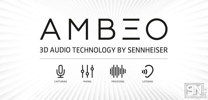 Наушники с бинауральной записью звука Sennheiser Ambeo