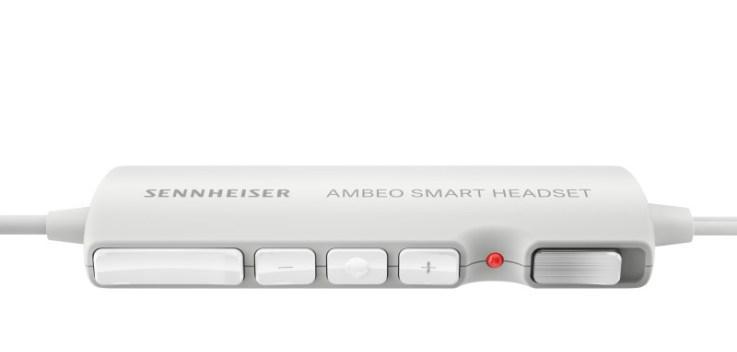 Пульт управления наушников Sennheiser AMBEO с бинауральной записью звука