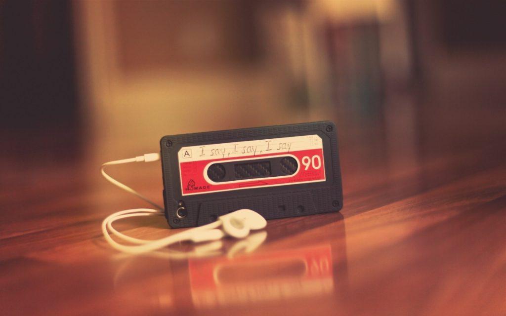 Формат хранения музыки с сжатием: mp3, aac, ogg, wma
