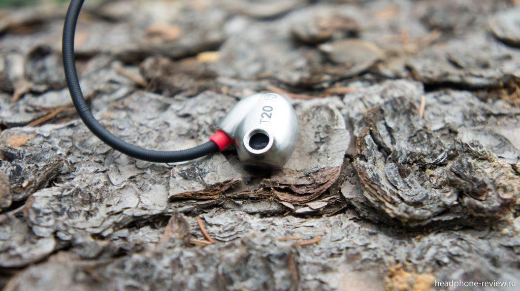 Наушники RHA T20 без сменного аудио фильтра