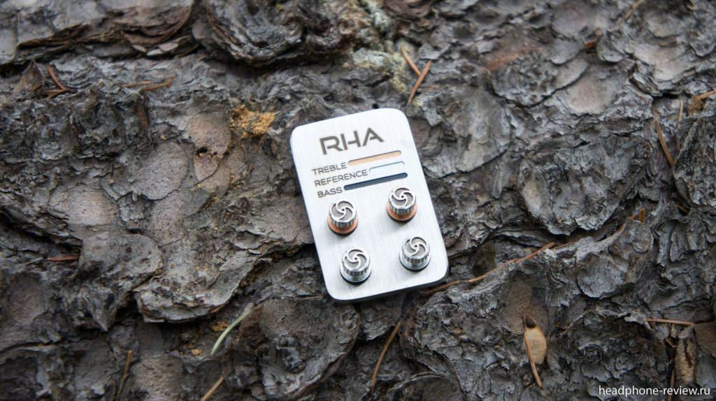 Сменные аудио фильтры для RHA T20