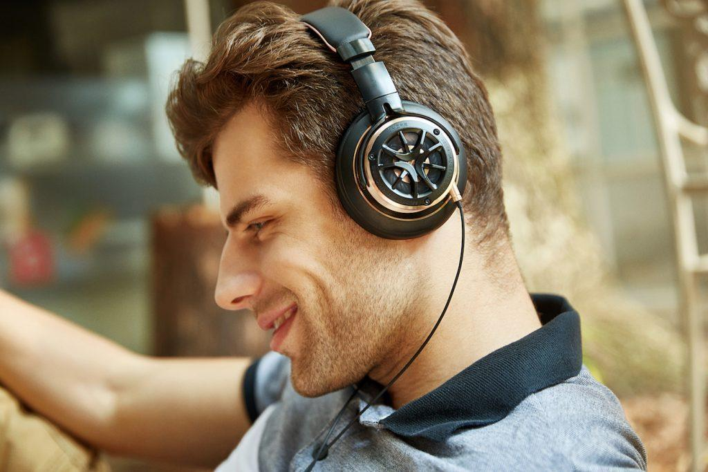 Triple Driver Over-Ear headphones