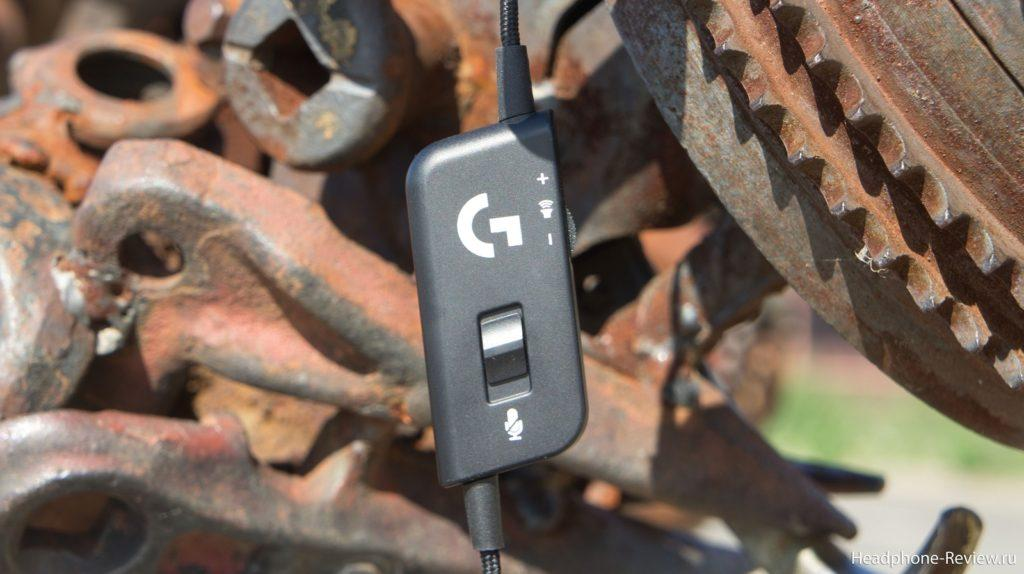 Пульт управления наушников Logitech G231 Prodigy