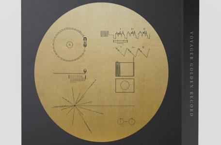 Золотой диск со спутника Вояджер 1