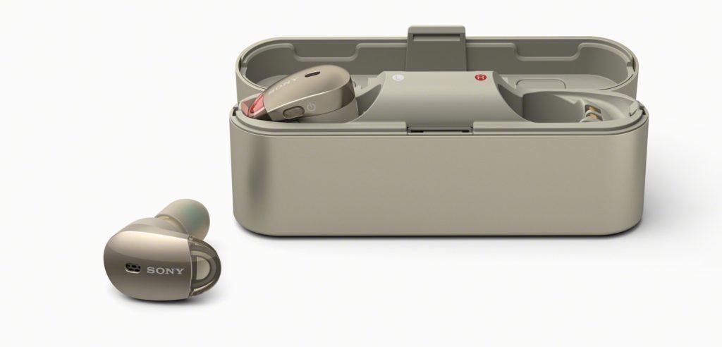 Полностью беспроводные наушники Sony WF-1000X