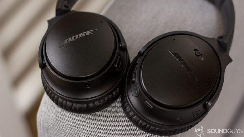 Беспроводные наушники с активным шумоподавлением Bose QC35 II