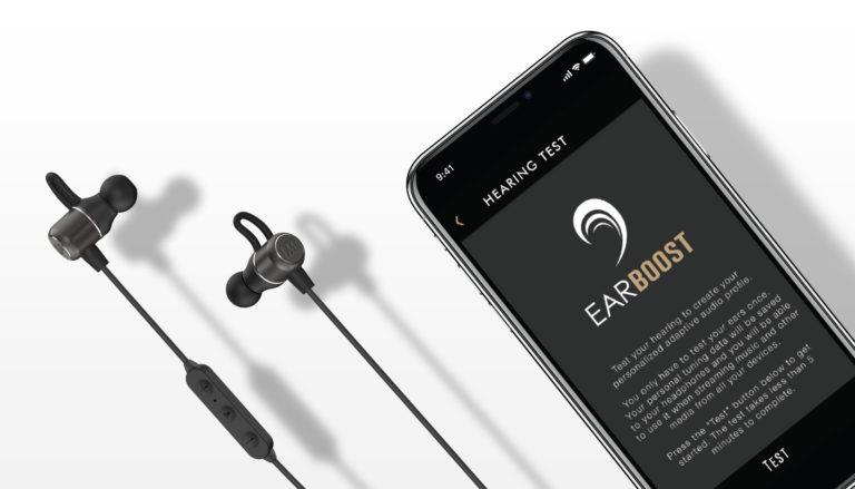 Беспроводные наушники MEE Audio EarBoost EB1