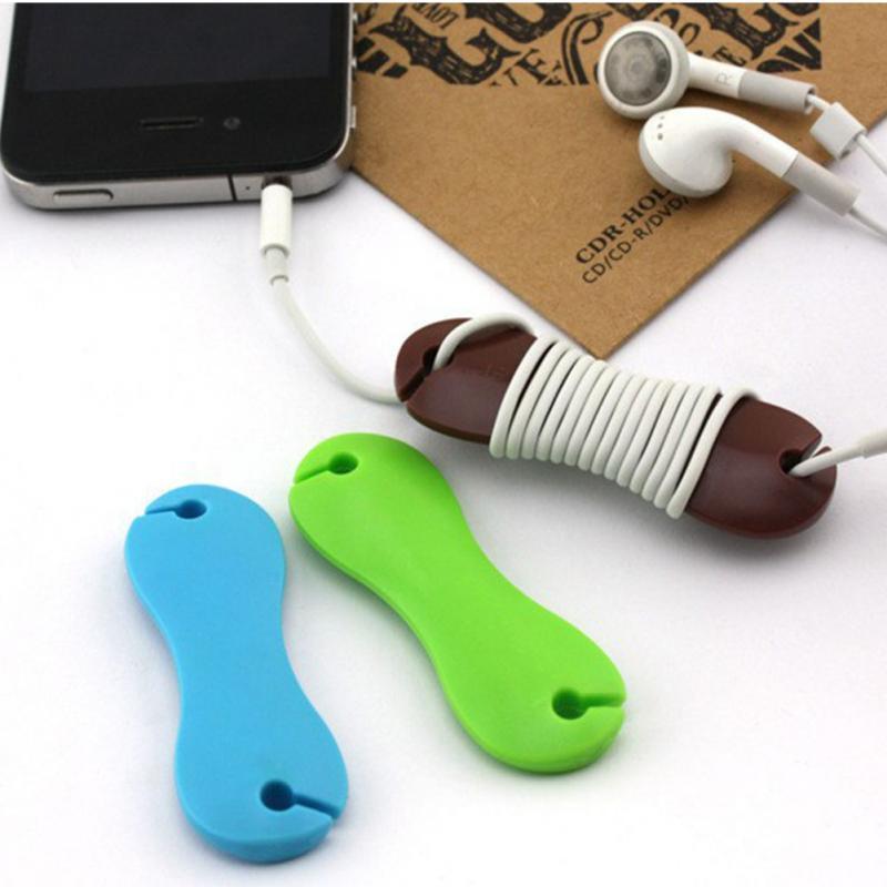 Гаджет для намотки провода наушников для аккуратного хранения
