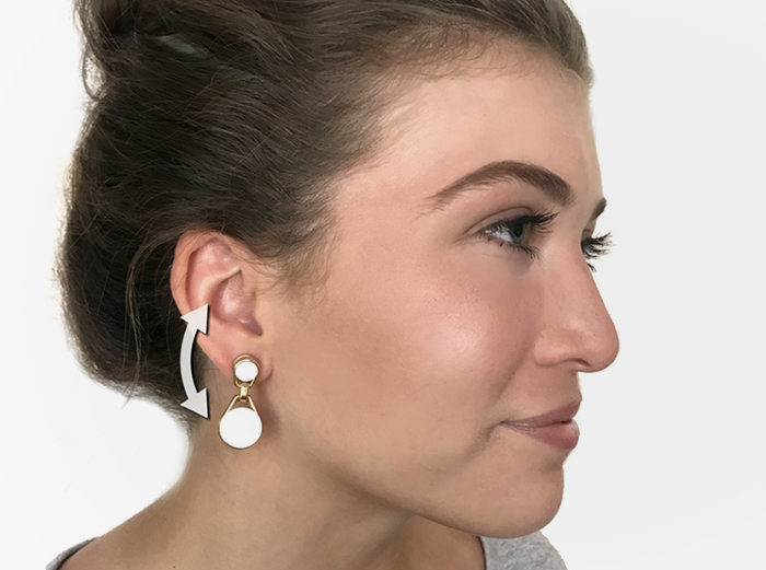 Swings: Bluetooth-наушники в форме сережек