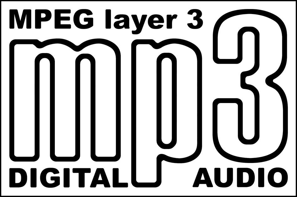Логотип аудиоформата mp3