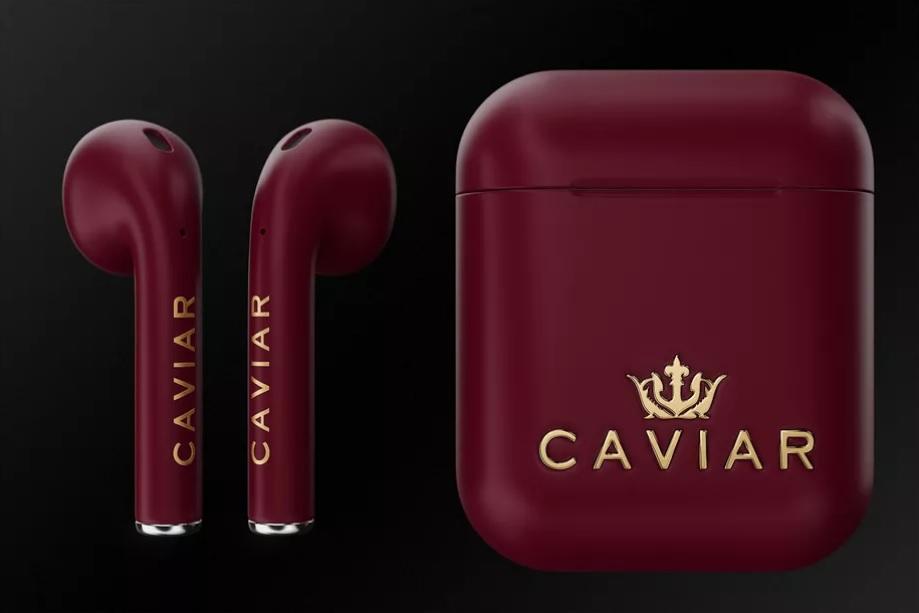 Модификация наушников AirPods от Caviar