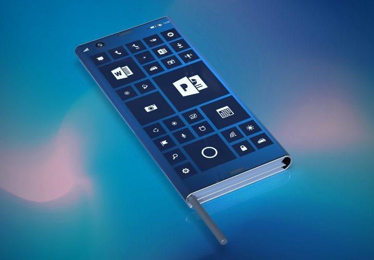 Intel: тонкий смартфон, который складывается
