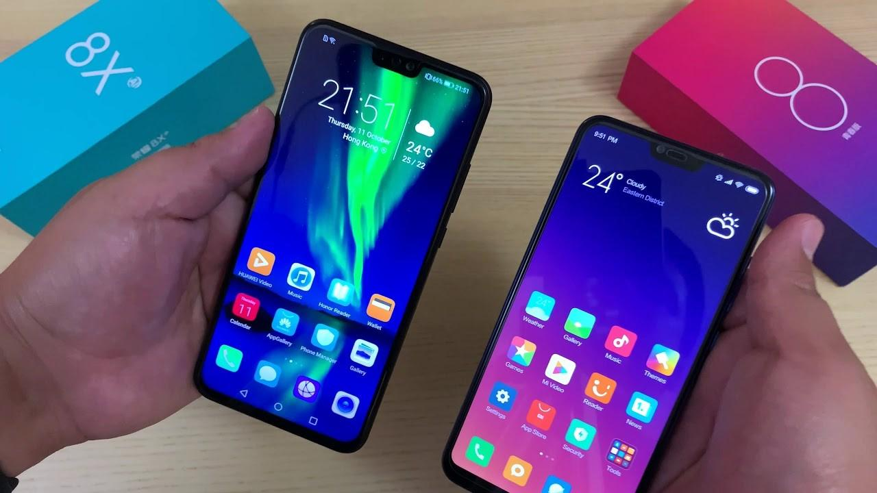 Honor 8X против Redmi Note 8: какой смартфон лучше
