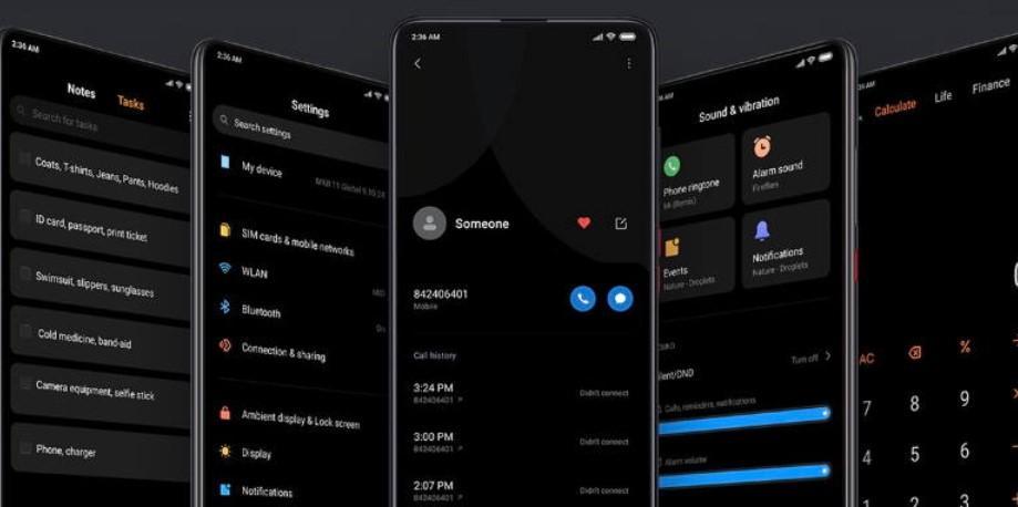 Новые возможности MIUI 12 и поддерживаемые устройства