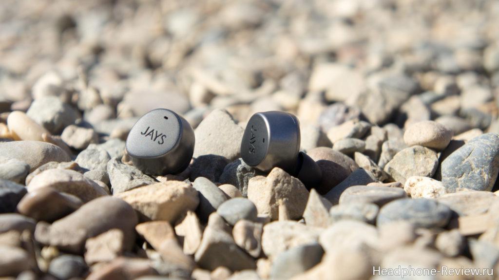 Беспроводные наушники Jays m-Seven True Wireless