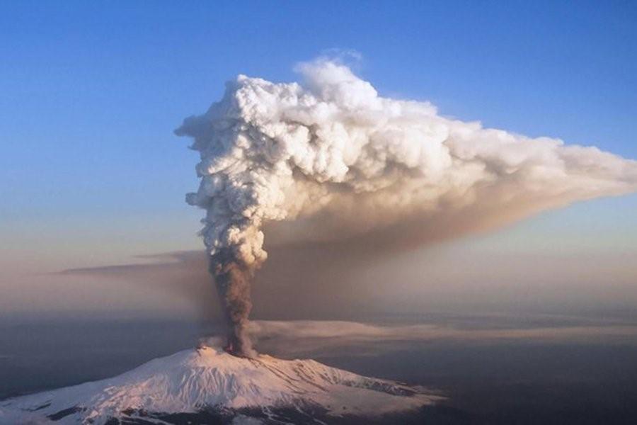 Эксперимент «Искусственный вулкан»: удобный способ охладить атмосферу