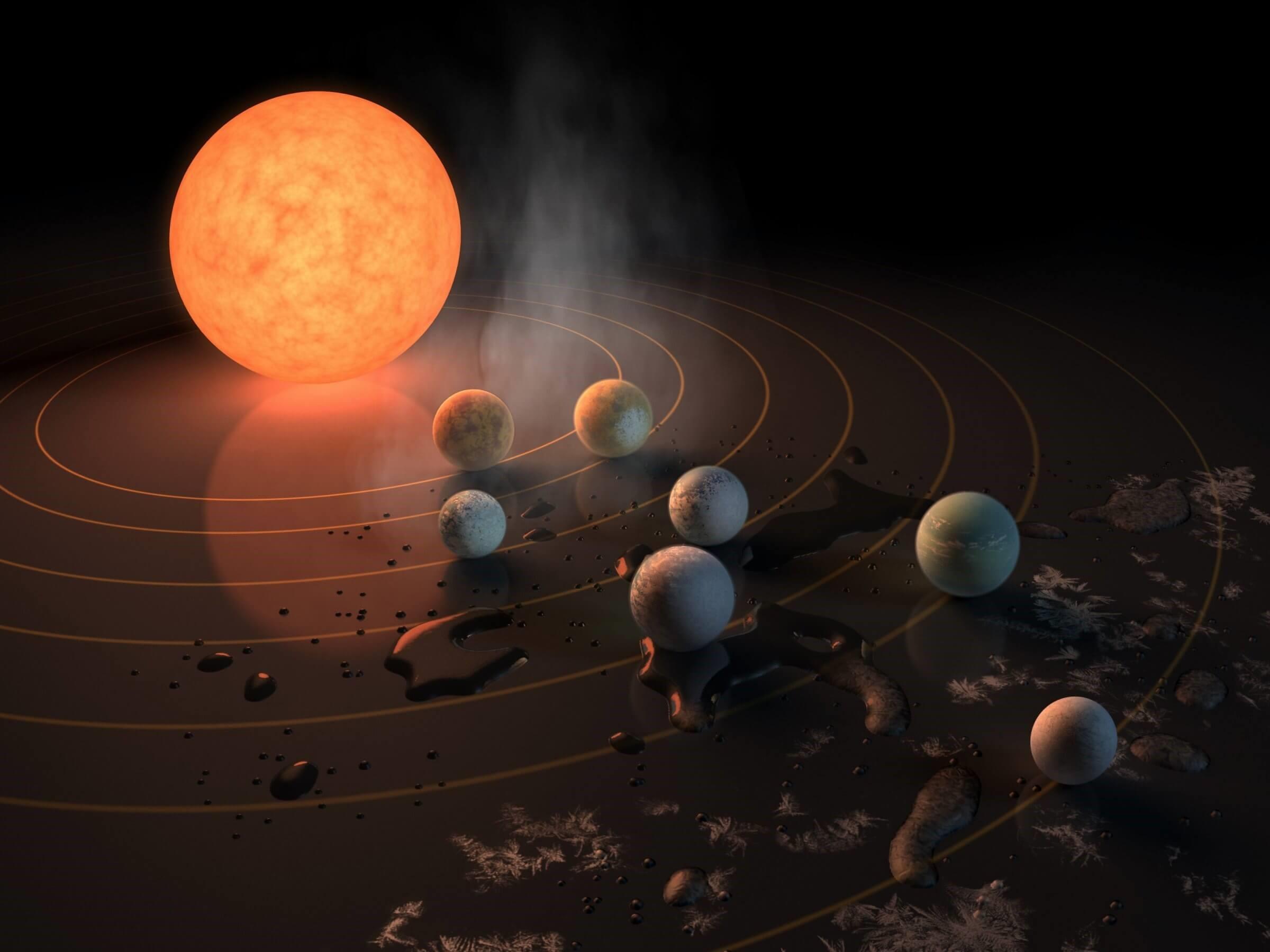 Почему сложно увидеть землеподобные планеты