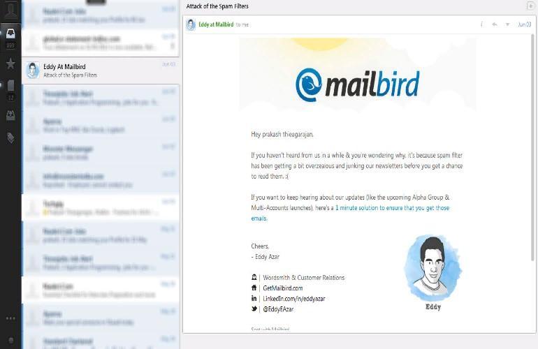 Как использовать почтовый клиент Mailbird для Windows