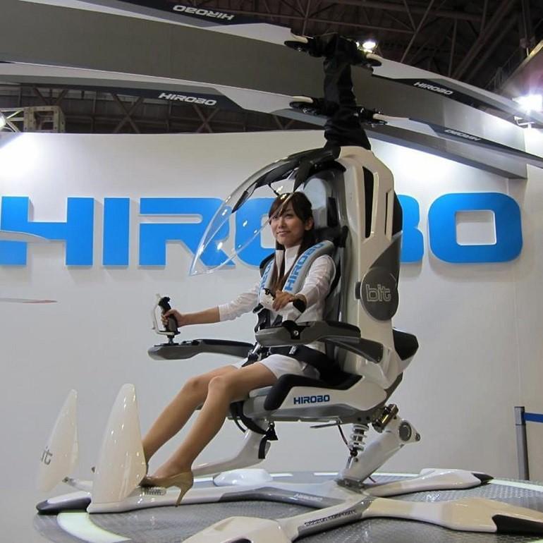 Новые разработки на рынке одноместных мини-вертолетов