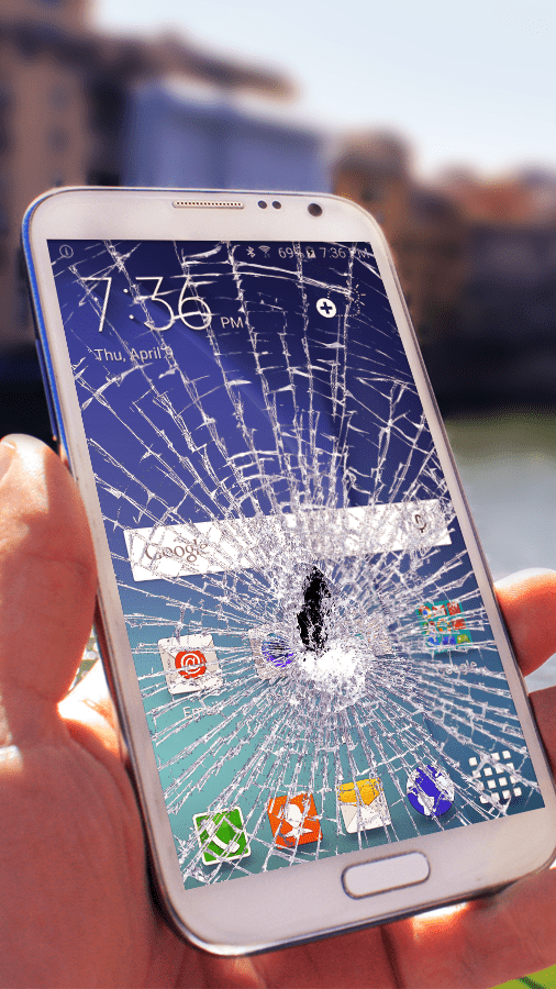 Разбит экран телефона: что делать