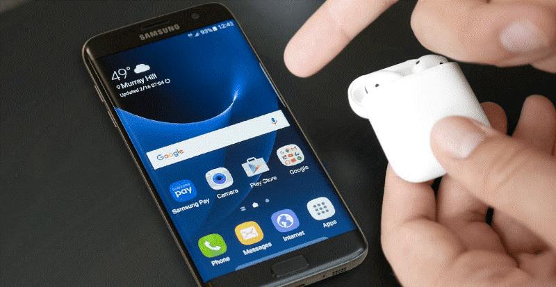 Наушники АirPods и смартфон: как установить и пользоваться